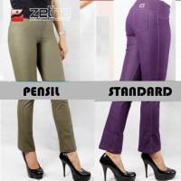 Celana Size 6XL Jegging Jeans legging dan Legging Katun Spandex ZETHA