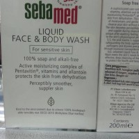 sebamed liquid face&body wash 200ml