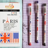 Pen gel paris bendera ESCO ES-2037