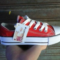 harga Murah !!! Sepatu Anak Converse All Star Merah Pendek ( Low ) Tokopedia.com
