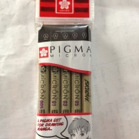 Jual sakura micron pack (drawing pen and brush) Murah