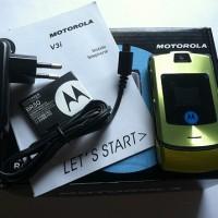 Motorola RAZR V3i Green