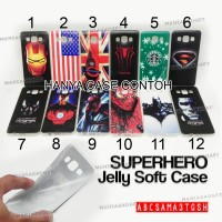 harga [m.g]jelly/silicon/soft Case Super Hero Oppo Mirror 3 R3001 Tokopedia.com