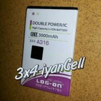 Baterai/Battery Lenovo A316/A369 (A369i) 3000mAh