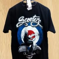 Grosir Baju Kaos Distro Vespa Scooters