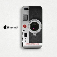 Leica Camera M9 iPhone 5/5S Custom Hard Case