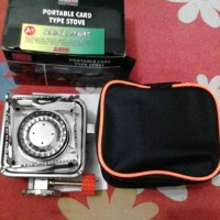 harga Portable Card Type Stove (Kompor Camping K-202) Tokopedia.com