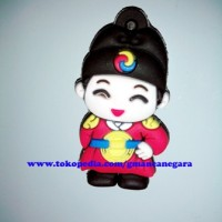 Jual Tempelan Magnet Kulkas Maskot Korea Mini figure #8 Murah