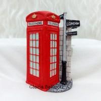 Magnet Kulkas Telephone Box Bus Tentara London Inggris
