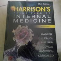 harga Harrison's Principles Of Internal Medici 19ed Vol 1-2 (hc) Tokopedia.com