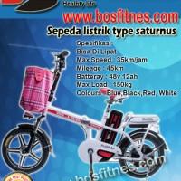 harga Sepeda Listrik Type Saturnus (Bisa diLipat) Tokopedia.com