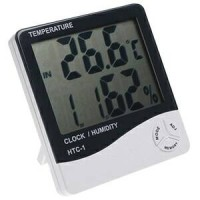 Digital Thermometer And Hygrometer HTC-1