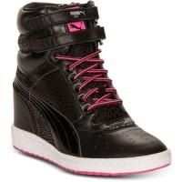 harga Sneakers Wedges Puma Mihara 66 Black White Tokopedia.com