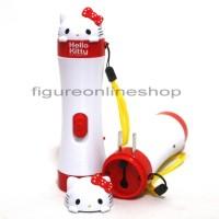 SENTER LAMPU LED HELLO KITTY MERAH (RECHARGEABLE)