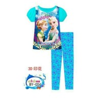 Ailubee Frozen Pajamas Piyama Anak. Sz 2 Sd 7 Thn