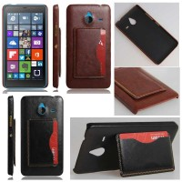 harga Jual Leather Hard Cover Casing Case Kulit Microsoft Lumia 640 Xl 640xl Tokopedia.com