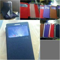 Flip Case / Leather Case Sarung Ume P70 Lenovo