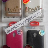 Liteair2 Silicone Case Asus Zenfone C Free Tempered Glass