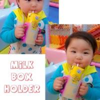 Wadah Susu Kotak dengan Pegangan agar susu tidak Tumpah Baby Anak aqua