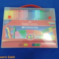 Connector Pen Faber Castell 60 warna