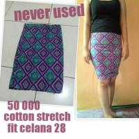 bodycon skirt tribal rok ngetat