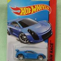 Hot Wheels Mastretta MXR biru