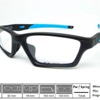 Kacamata Original Frame Oakley Crosslink Sweep Satin Black Blue