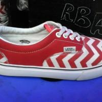 sepatu vans era belang murah warna merah + box