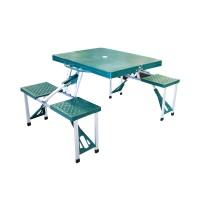 Atria Hobbit Portable Folding Picnic Table [ Meja Piknik Lipat ] Hijau