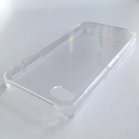 CASING COVER SUPERTHIN IPHONE 4 4S CLEAR BENING TRANSPARAN HARDCASE