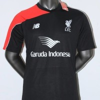 JERSEY LIVERPOOL TRAINING GARUDA HITAM 2015-2016