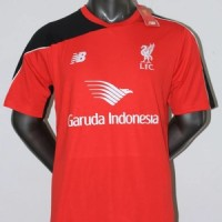 JERSEY LIVERPOOL TRAINING GARUDA MERAH 2015-2016