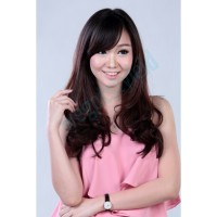 Hairclip Big Layer Short 40-50 Cm ( FullHead ) / Hair Clip Korea