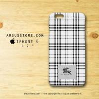 Burberry London Pattern BW iPhone Case ,4 4s 5 5s 5c 6 6 Plus hardcase