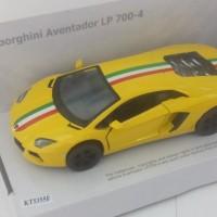 KINSMART 1/36 Lamborghini Aventador LP 700-4 With Italy Flag
