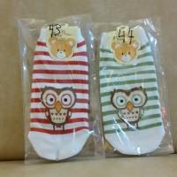 Kaos Kaki Korea Anak dan Dewasa All Size High Quality Owl Burung Hantu