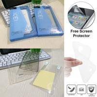 Softcase Zen Slim Ice Silikon Soft Cover Case Lenovo P70 + Anti Gores