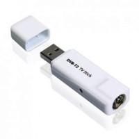 TV Tuner Input Antena Digital DVB-T2 USB Stick untuk PC / Laptop DVT-T2