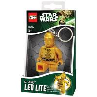 Star Wars LEGO C-3PO Robot Droid Figure Key Light LED Lite Torch