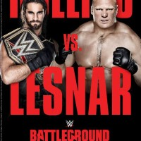WWE BATTLEGROUND 2015 - HD DVD Version