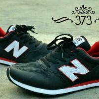 harga Sepatu Murah New Balance 373 Man [hitam Merah List Putih] Tokopedia.com