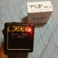 harga Ampli Gitar Portable Rock You Pg 5 Tokopedia.com