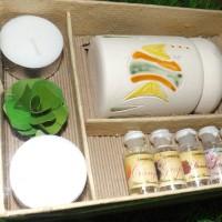 ... harga Paket Aromatherapy (1 Tungku+2 lilin+6 essential oil @5ml)