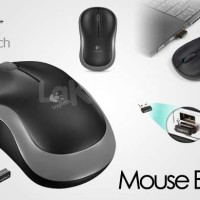 Wireless mouse ( Tanpa kabel ) LOGITECH B175