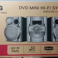 LG - DVD MINI HI-FI WITH BASS BLAST - DM5230