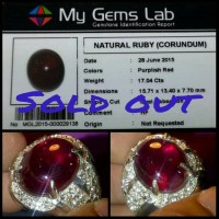 harga Natural Red Ruby Pigeon Blood Crystal + Memo Tokopedia.com