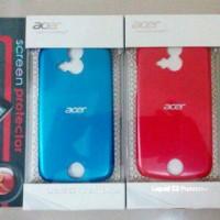 [M.G]Jelly/Soft/Silikon Case Acer Liquid E2(V370) Bonus Anti Gores