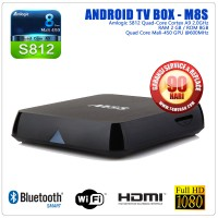 TV Box Android - M8S, S812 Quad Core 2G, 2G / 8G, Android 4.4