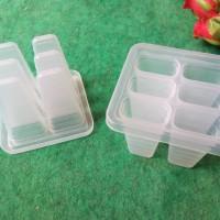 Jual cetakan es loli / es lilin / jelly / ice cream bergaris Murah