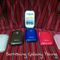 Softcase Samsung Galaxy Young New S6310 Soft Case Silicon/silikon